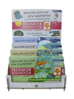 Postkartengeschichten Display